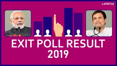 Exit Poll Results For Lok Sabha Elections 2019: BJP-led NDA Set to Win